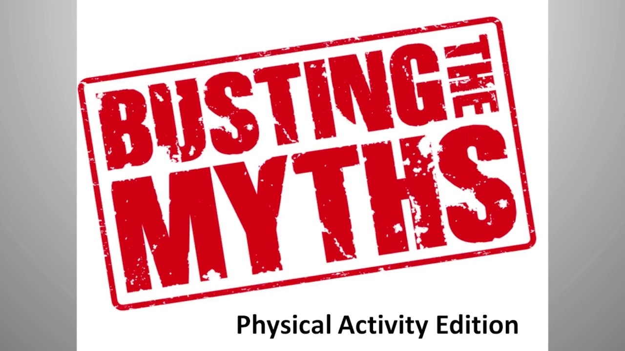 Still image from the Physical Activity: Making Sense of Current Research, Persistent Myths, and Common Barriers YouTube video