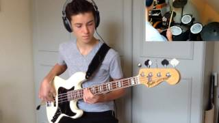 Fender Olympic White American Deluxe Jazz Bass Rosewood - bass guitar demo