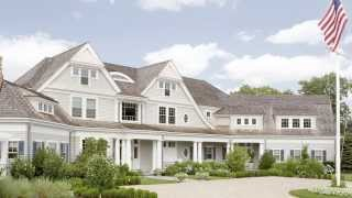 American Shingle Vacation Home Typifies An Architectural Style Common To The Cape Cod Region