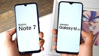 Xiaomi Redmi Note 7 vs Samsung Galaxy M20: Speed Test!!!