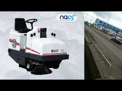 Road Sweeper Diesel Driven & Battery Operated