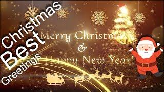 #MerryChristmas greetings whatsapp status video | Chirstmas Video greetings & status
