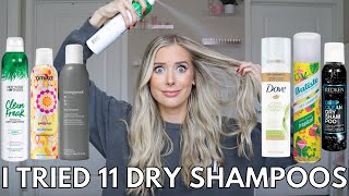 I Found the Best Dry Shampoo! Not Your Mother's Dry Shampoo, Redken Dry Shampoo, Batiste Dry Shampoo