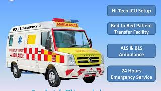 King Ambulance Service in Patna and Hajipur is the Best to Hire and Relocat