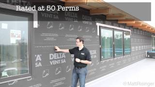 Delta Vent SA Review - Self Adhering Housewrap