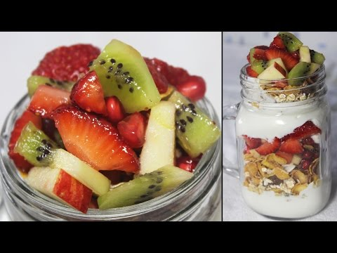 Video Healthy Breakfast Parfait | Fruits, Oats & Yogurt Parfait | Easy Breakfast Recipe