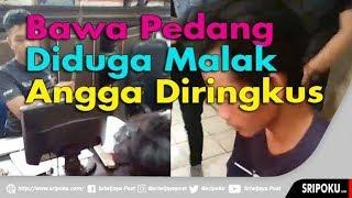 Pemalak Membawa Pedang Diamankan Pidum Polresta Palembang, Sopir Truk Nyaris Jadi Korban