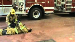 Firefighter drag