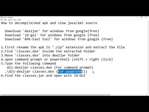 decompile-android-apk-into-java-and-xml-hunt-for-malware