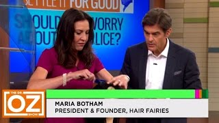 """""""How to Get Rid of Lice"""" - Hair Fairies on The Dr. Oz Show!"""