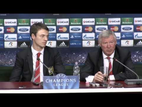 Sir Alex Ferguson loses his cool over Ryder Cup question
