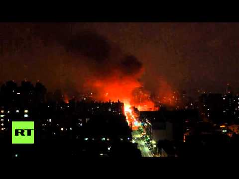 Fire brannmenn omkom i gasseksplosjon
