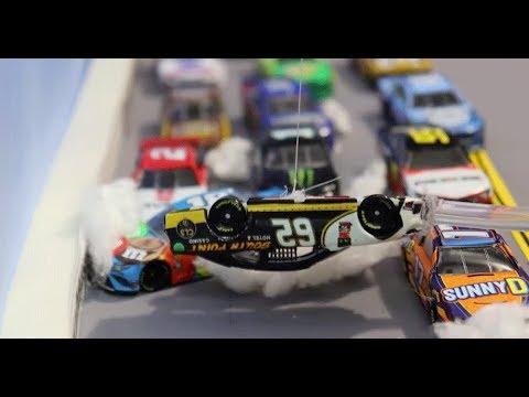 Stop Motion NASCAR: Talladega's wild wrecks and close finish
