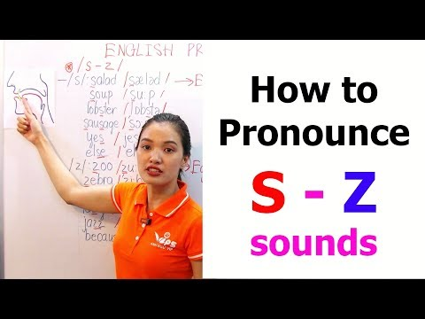 How to Pronounce S - Z sounds