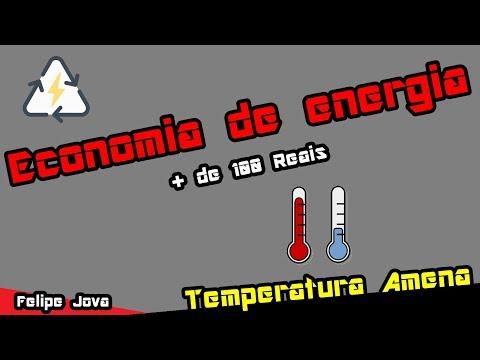 Economia de Energia, Diminuir Temperatura e Ruído