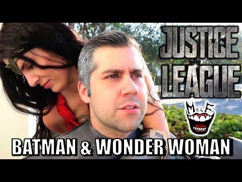 BATMAN & WONDER WOMAN Parody! Epic Justice League Spoof