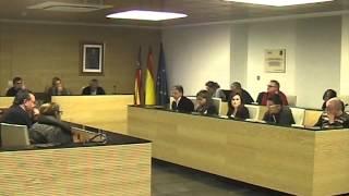 preview picture of video 'Almazora, pleno ordinario 09-02-2015'