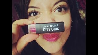 ♡Review Labial City Chic... Colaboración♡