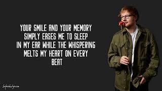 Ed Sheeran - Postcards (Lyrics)