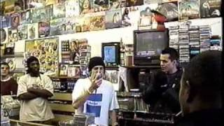 Amazing Eyedea Freestyle In-Store w/ Slug & One Be Lo - Seattle, WA.  2002