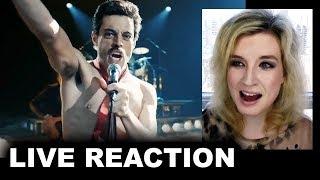 Bohemian Rhapsody Trailer REACTION