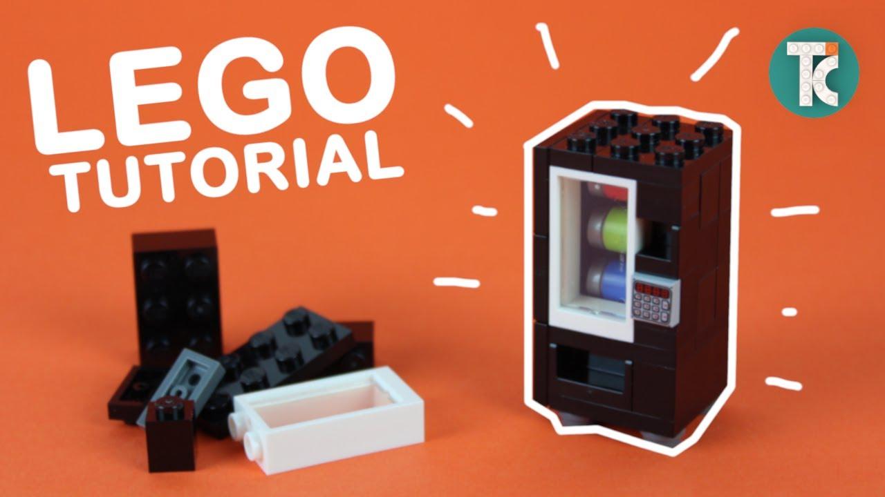 How to build a LEGO Vending Machine (Tutorial)