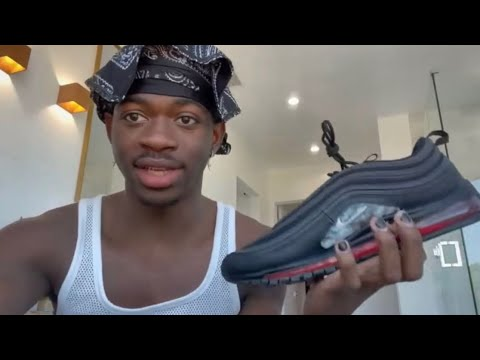 Lil Nas X Reacts To Nike Backlash Over Satanic Blood Shoes