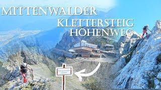 Klettersteig Mittenwald : Mittenwalder höhenweg klettersteig Самые популярные