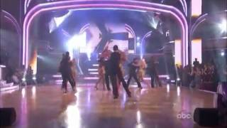 Dancing With The Stars Pros  & Troupe Opening Dance
