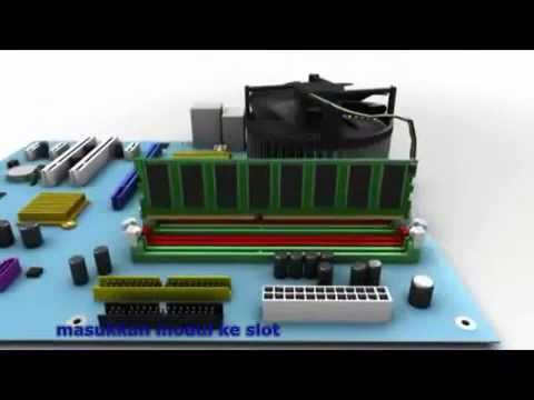 Video Cara Mudah Merakit Komputer PC untuk Pemula