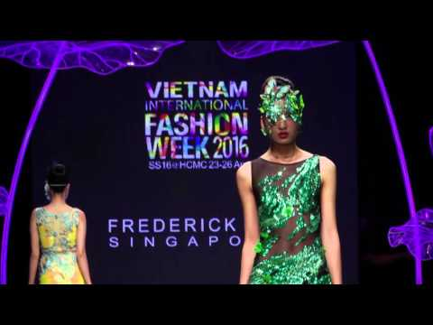 FREDERICK LEE Showcase Vietnam International Fashion Week 2016