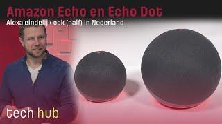 Amazon Echo en Echo Dot Review - Alexa eindelijk ook (half) in Nederland