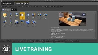 Getting Started With The Ar Template     Training   Unreal Engine  Stream