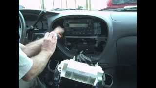 Toyota Sequoia Car Stereo / Amp Removal and Repair