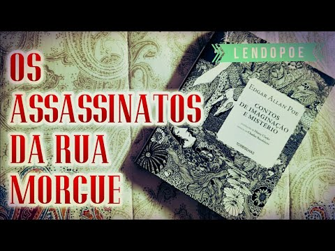 Assassinatos na Rua Morgue, de Edgar Allan Poe | Mês do Halloween | LendoPoe | Pilha de Leitura