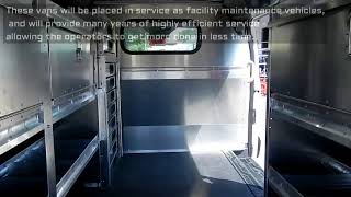 Ford Transit XL Hybrid Facility Maintenance Vans