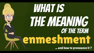 What is ENMESHMENT? What does ENMESHMENT mean? ENMESHMENT meaning, definition & explanation