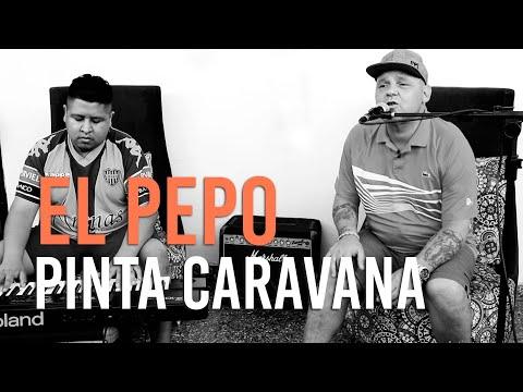 El Pepo video Pinta Caravana - Acústico de piano 2021