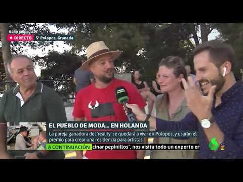 La TV holandesa pone de moda Polopos, en Granada, en 'Liarla Pardo' de laSexta