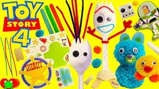 Toy Story 4 DIY Forky Make Your Own