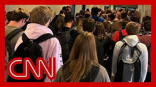 Student suspended after posting photo of crowded hallway