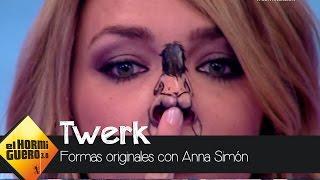 Así baila Anna Simón 'twerking' con la nariz - El Hormiguero 3.0