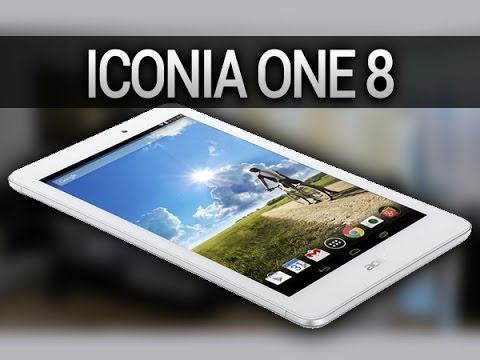 Acer Iconia One 8, prise en main - par Test-Mobile.fr