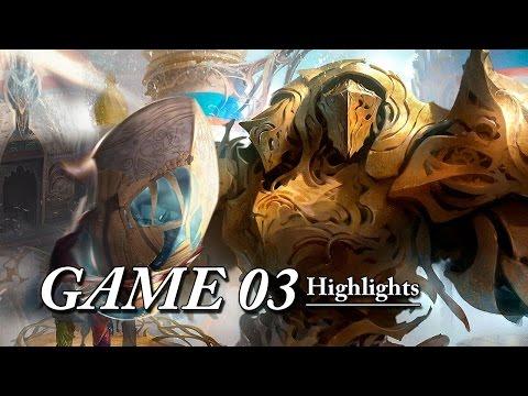 Magic The Gathering Highlights 4-Color Vehicles Vs U/B Control Game03 (01-02-2017)