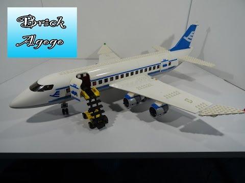 Vidéo LEGO City 7893 : L'avion