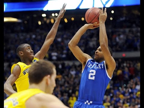 Aaron Harrison's buzzer beaters in 2014 March Madness