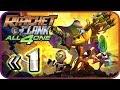 Ratchet amp Clank: All 4 One Walkthrough Part 1 ps3 Lum