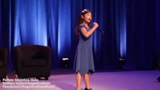 Angelica Hale Sings the American National Anthem in Washington DC