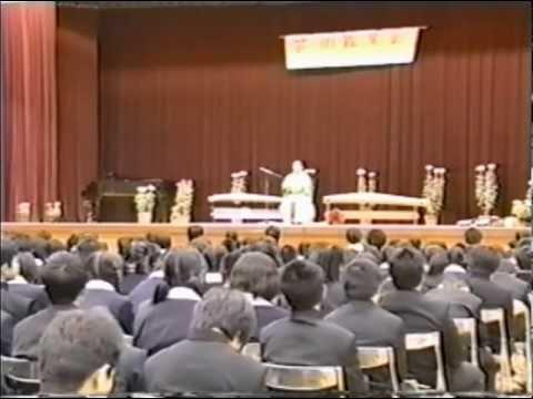 平成12年(2000) ・倉敷市立水島中学校訪問記