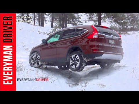 SNOWY Off-Road Review #1: 2015 Honda CR-V AWD on Everyman Driver